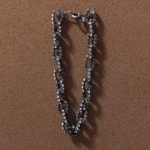 J. Crew Crystal Link Necklace